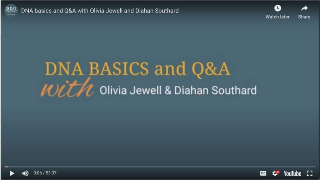 DNA Basics with Diahan Southard