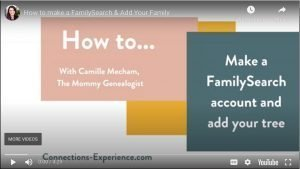 How to Make a FamilySearch Account and Add Your Tree