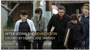 Students Help Victims of Hurricane Harvey Restore Lost Memories