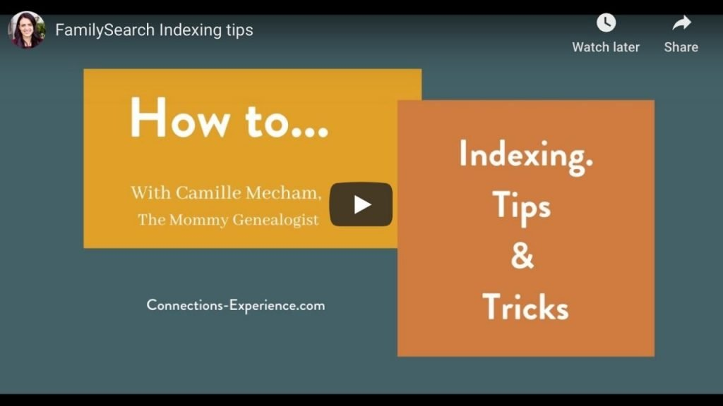How To...Indexing Tips and Tricks