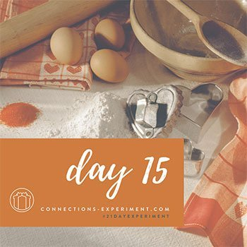 Gift of Connection recipe gift day 15